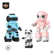 цена на Singing and dancing early education learning machine story machine intelligent companion robot children's remote control toy