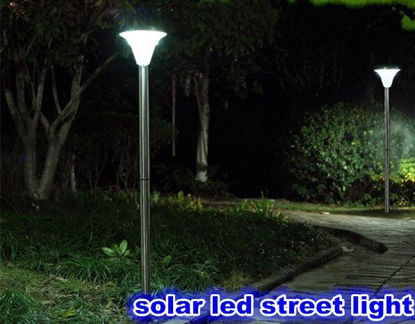 actualizar impermeable llev la luz de calle solar paisaje luz de la lmpara decoracin de