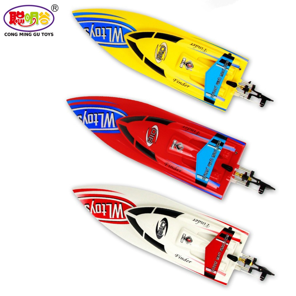 Origial Wltoys WL911 4CH 2.4G High Speed Racing RC Boat RTF 25km/h Remote Control Toys WL 911 VS FT007 VS UDI001 free shipping wltoys wl911 2 4g high speed racing boat spare part wl911 22 370 motor