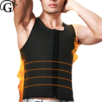 New Men Body Shaper Corset Male Slimming Belly Plus Size Neoprene Underwear Waist Trainer Corsets With