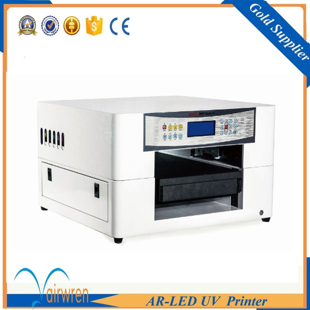 New Technology Flatbed Uv Printer Invitation Card Wedding Vinyl Printing Machine