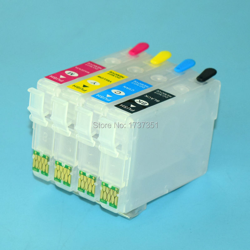 South America T297 T2971 T2962-T2964 refill ink cartridge with disposable chip for Epson Expression XP-231 XP-241 XP-431 XP-441 t1711 refillable ink cartridge for epson expression home xp 103 xp 203 xp 207 xp 313 xp 413 printer ink with auto reset chip