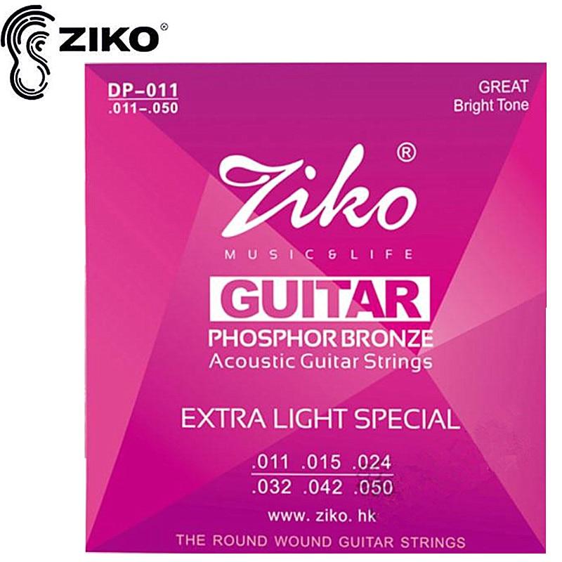 ZIKO 011-050 DP-011 Accesorios partes de guitarra de cuerdas de guitarra Acústic