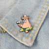 Cartoon Bob Collection ! Sponge Squidward Patrick Star Mermaid Man Barnacle Boy Pineapple House Friends Enamel Lapel Brooch Pin 5