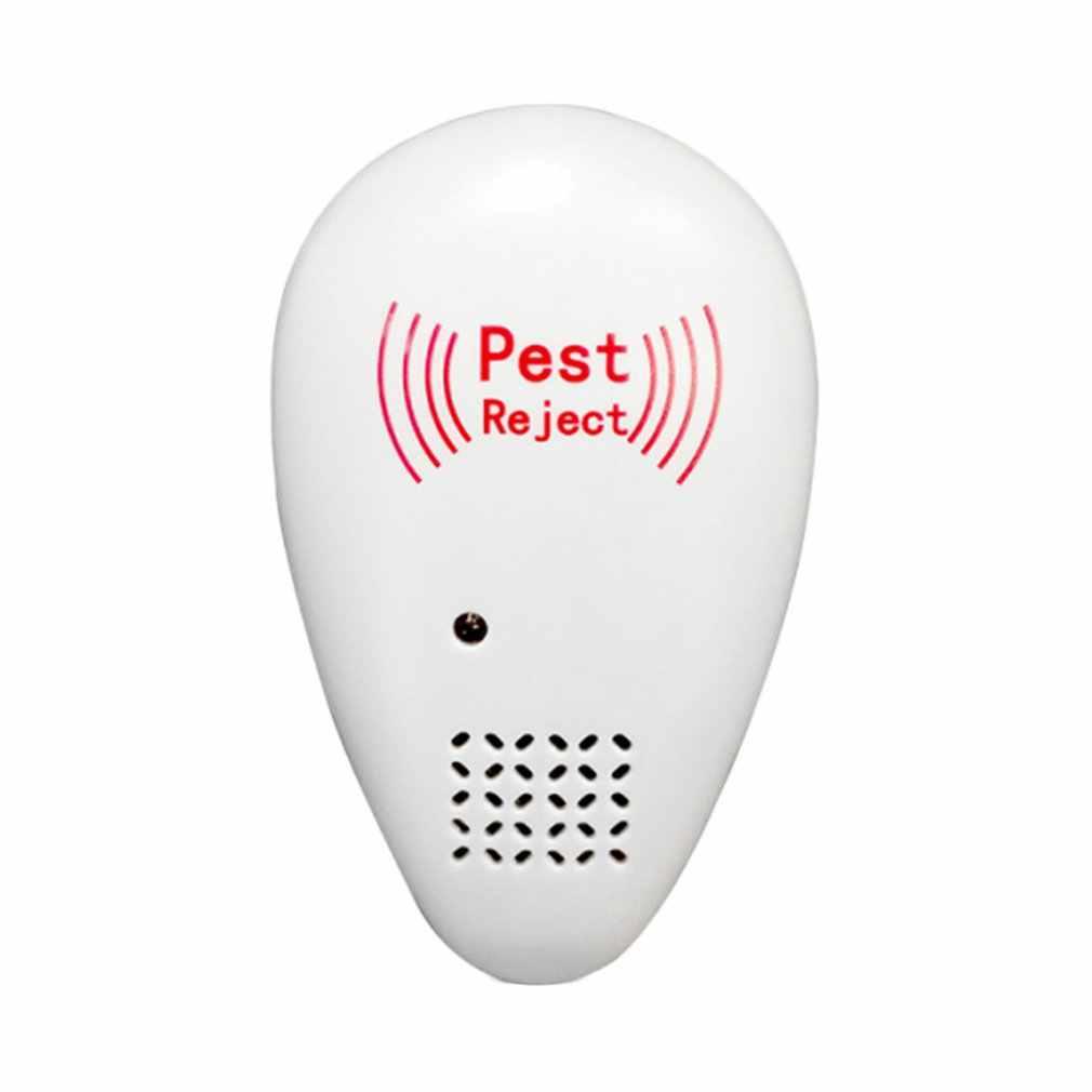 1803 Portable Ultrasonic Nyamuk Penolak Serangga Repeller Electronic Drive Kecoa Mouse Drive Insektisida Pembunuh Serangga