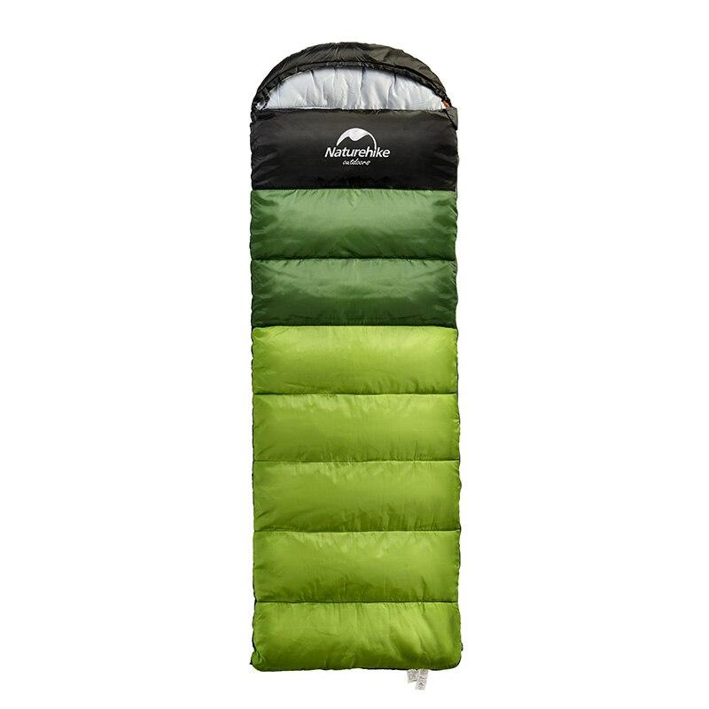 Naturehike сверхлегкий спальный мешок Открытый Отдых Путешествия пеший Туризм взрослых может быть соединены туристический Tquipment