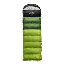 Naturehike ultraleve saco de dormir acampamento ao ar livre viagem caminhadas adulto saco de dormir pode ser emendado turismo tquipment