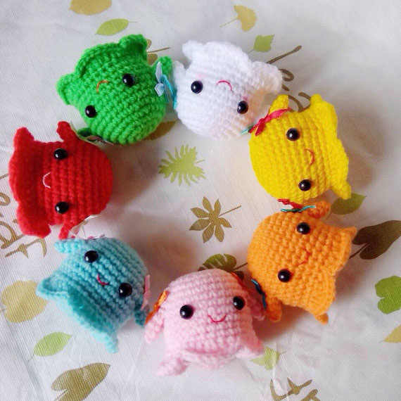 Halloween Ghosts: Crochet Pattern Roundup! | Russian crochet ... | 570x570