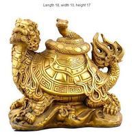 The copper copper sculpture statue Xuanwu animal