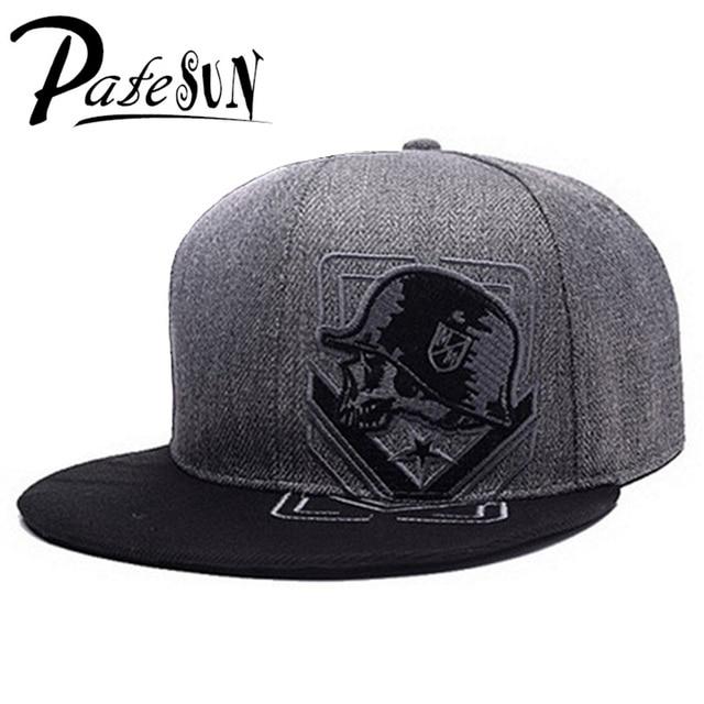 PATESUN Top Selling Gothic Men s Baseball Cap Women Hats New Fashion Brand  Snapback Caps Men hip hop beisebol touca 9791cdd90d1
