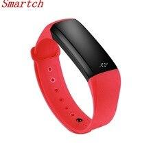 Smartch Bluetooth Smart Band M2S oled-дисплей браслет монитор сердечного ритма SmartBand здоровья фитнес-трекер Браслет для Androi