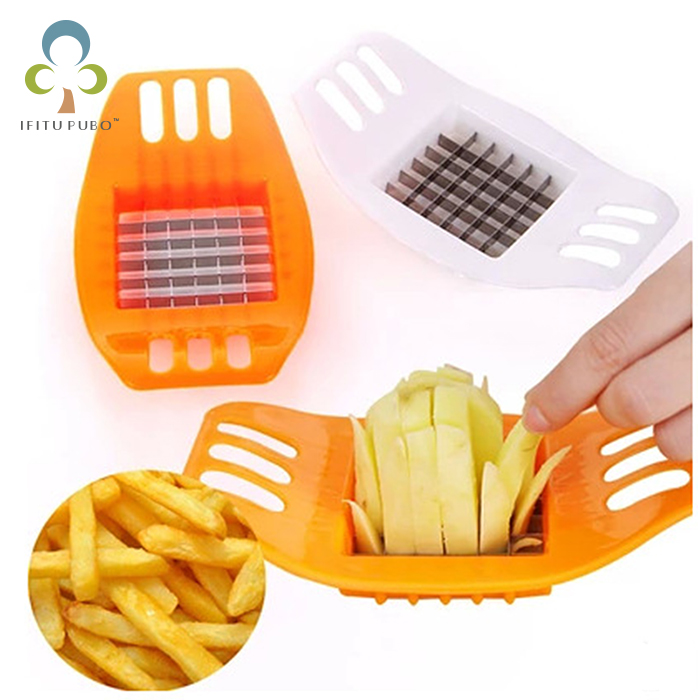 Creative Kitchen potato cutting device - cut fries is a weapon to do fries kitchen knives ceramic knife knife