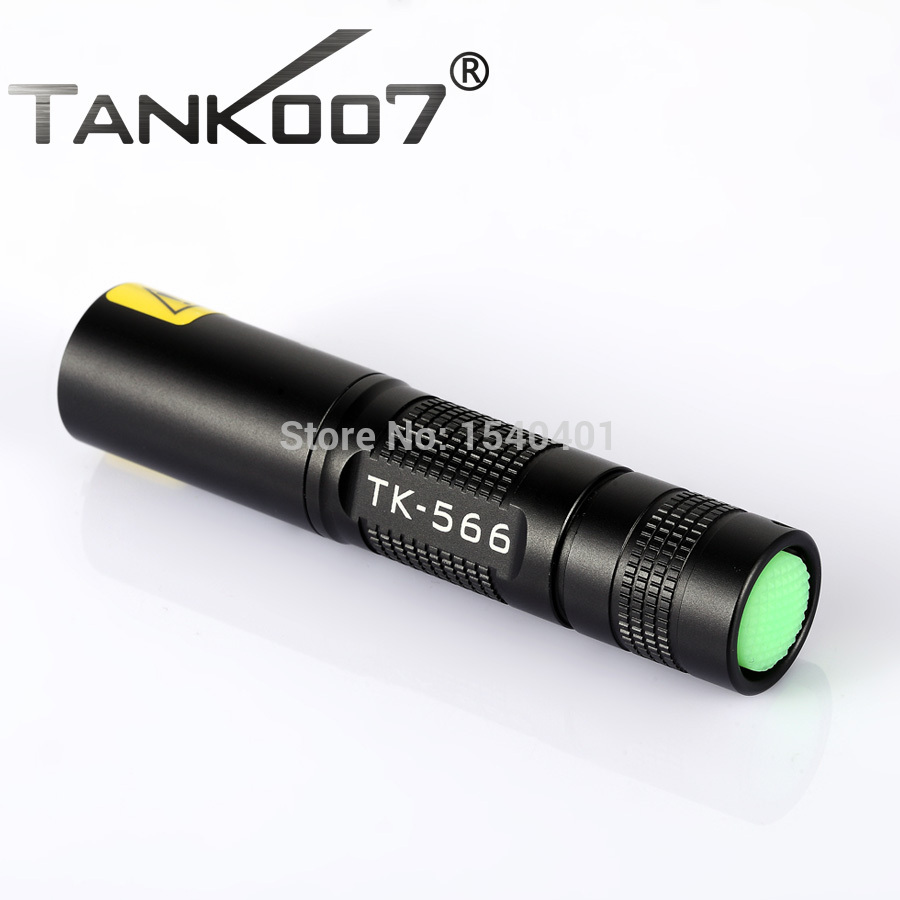Free Shipping TANK007 TK566 395nm 3w flashlight black fluorescent-uv-light LED Aluminum check monery pesca