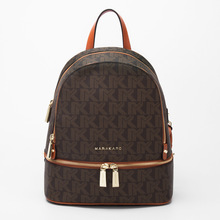Classic Famous brand style women backpack fashion lady backpacks genuine leather