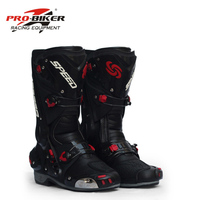 PRO BIKER Motorcycle Boots Protective Motocross Racing Speed Motorbike Shoes Moto Boot Dirt Bike Cycling Sports Botas B1003
