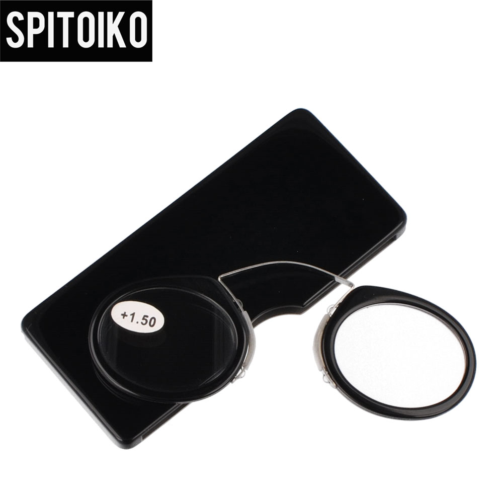 SPITOIKO  Mini Reading Glasses Portable Colorful Presbyopia +100~+400 - Apparel Accessories - Photo 5