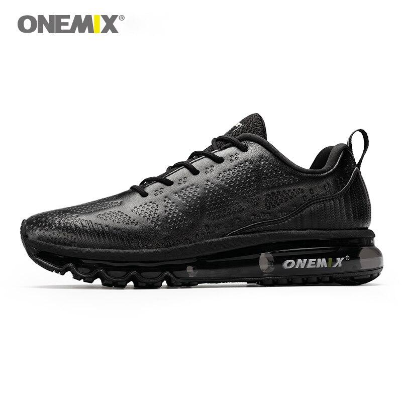 ONEMIX мужские кроссовки непромокаемые кожаные уличные кроссовки амортизация свет мужские кроссовки Размер EU 39-47