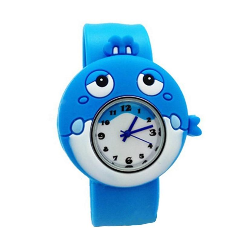 Children's Watches Cartoon Kids Wrist Baby Watch Clock Quartz Watches for Gifts Relogio Montre Sea whale