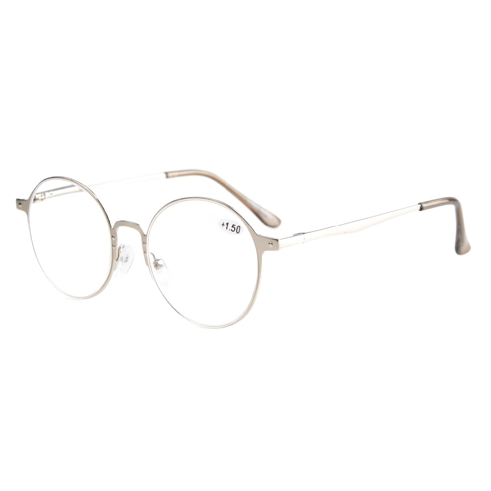 873afca1e3 Detail Feedback Questions about R15044 Eyekepper Readers Quality Spring  Hings Retro Round Reading glasses ...
