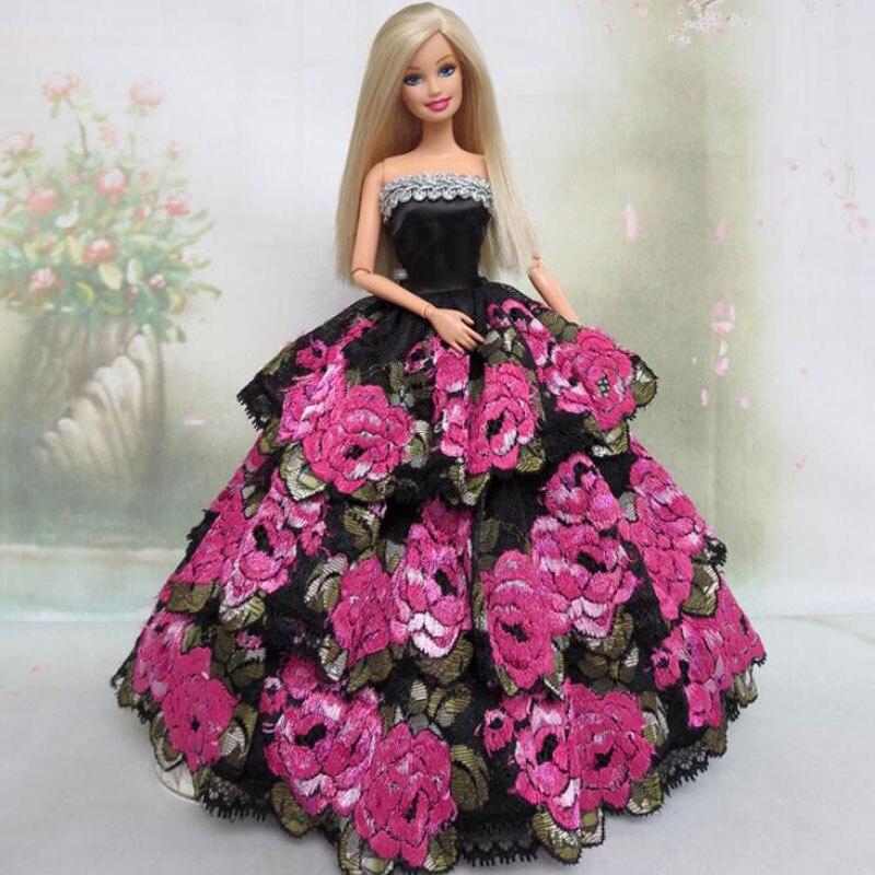 CXZYKING Princesa Partido Del Vestido de Boda El Vestido Para Barbie ...