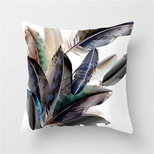 Fuwatacchi Ramadan Pillow Cushion Cover Elephant  Moon Flower Leaf Pillowcases Decorative Pillows for Home Sofa Car