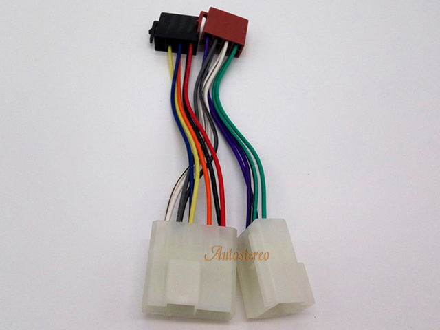 Cool Free Shipping Iso Standard Power Adapter Wiring Harness Specific For Wiring Cloud Pendufoxcilixyz
