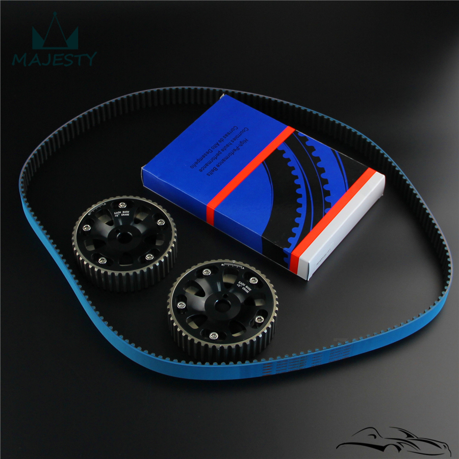 Cam Gear w/комплект ремня ГРМ ПОДХОДИТ для Toyota MR2 3S GE 174T 97 99/98 05 Celica VVTI - 5