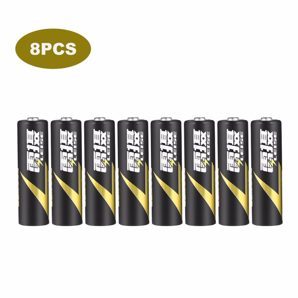 LEISE 8pcs 1.2V AA 2100mAh Ni-MH Rechargeable Battery Environmentally Friendly Low Consumption Battery Immediacy Black