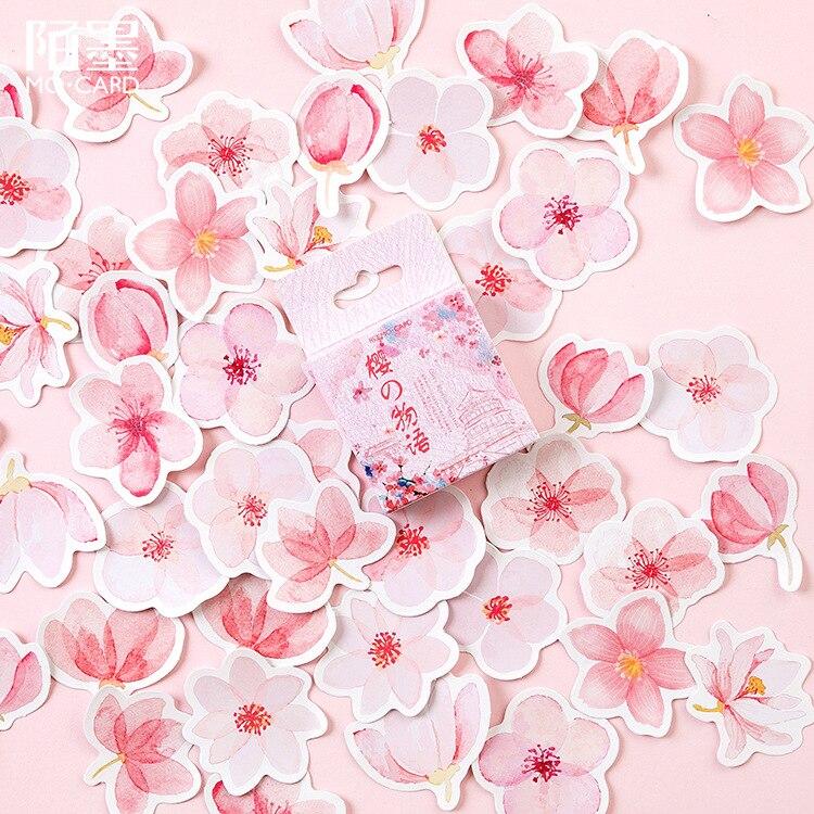 New Cherry blossoms festival Mini Autoadesivo di Carta Della Decorazione di Diy Ablum Diario Scrapbooking Etichetta Adesiva di Kawaii di CancelleriaNew Cherry blossoms festival Mini Autoadesivo di Carta Della Decorazione di Diy Ablum Diario Scrapbooking Etichetta Adesiva di Kawaii di Cancelleria
