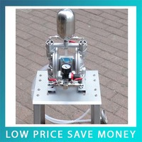 Small Protable High Pressure Double Acting 35L/min Pneumatic Diaphragm Pump For Painting