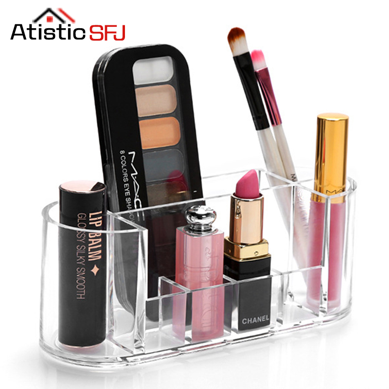 Atistic SFJ Fashion Practical Cosmetic Container Acrylic Makeup Organizer  Stationery Organizer Storage Container Jewelry Box In Storage Boxes U0026 Bins  From ...