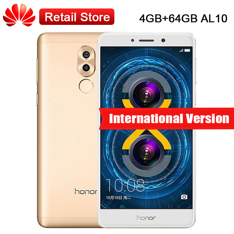 Global Firmware Huawei Honor 6X BLN AL10 4GB RAM 64GB ROM 5 5 Kirin 655 Dual