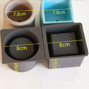 Image 5 - Molds for Concrete Flower pot ,Cement Molds Succulent Plants Pot Mold Concrete Planters Molds
