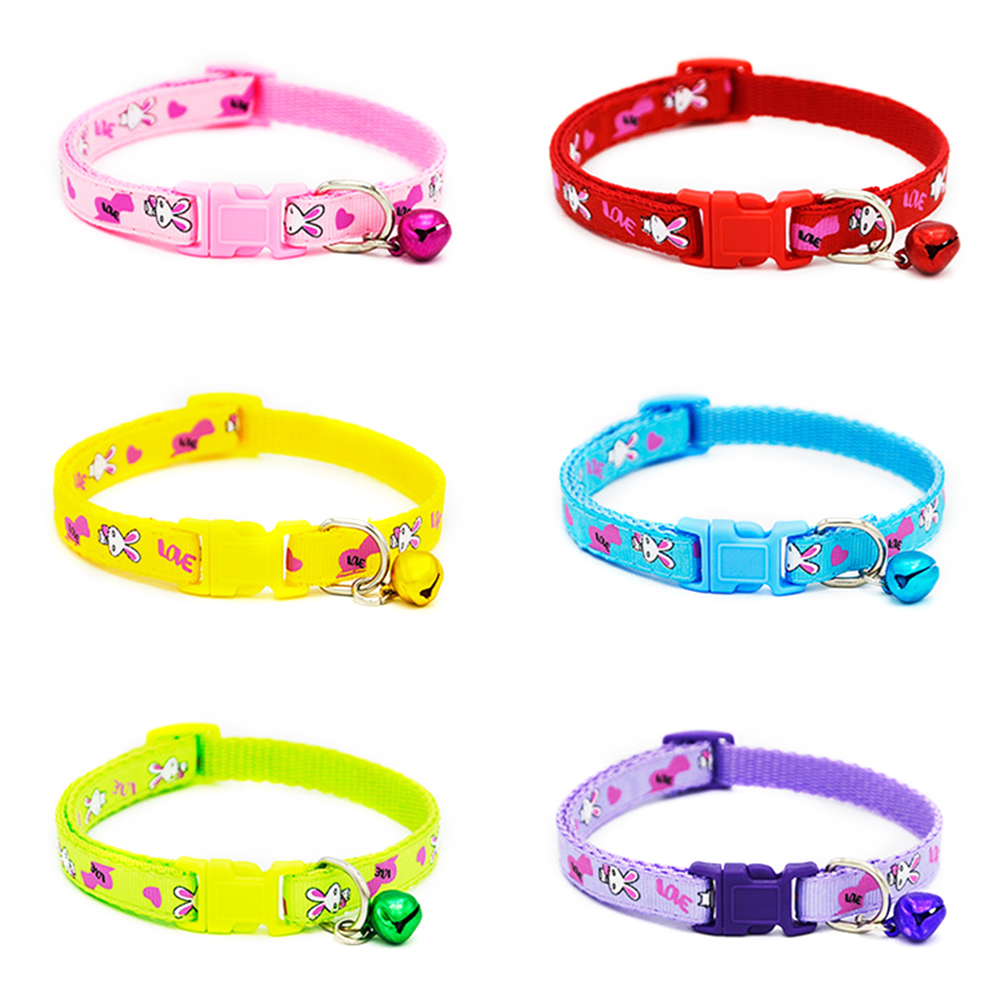 4 Cat Collar Breakaway Collar For Cats With Bell Cat Collars Adjustable Quick Release Puppy Collar Chihuahua Cat Leash Pet Product (5)