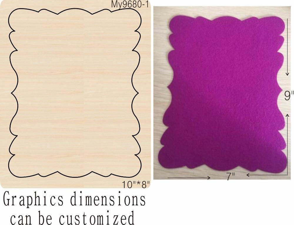 Album détachable moule en bois accessoires découpés en bois die refairy Acciaio die Misura, MY-in Matrices à découper from Maison & Animalerie    3