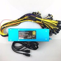 Free Ship 2800w Pc Power Supply ETH ZCASH MINE 100 265v 2800W Can Use For 1060