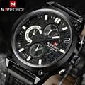 NAVIFORCE Marca Relojes Cuarzo de Los Hombres Deportes Relojes Moda Casual Reloj Militar 3ATM Impermeable Masculino Del Relogio masculino 2016