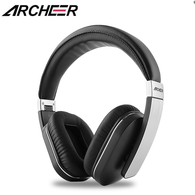 ARCHEER AH07 Apt-X Audio Bluetooth Headphone Adjustable Soft Ear Covers Foldable Wireless Stereo Headphone With Mic стоимость