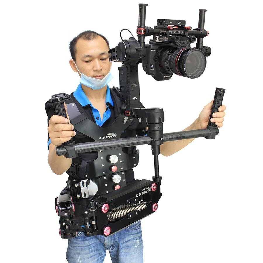 LAING Like SKIER DSLR steadicam Camera Support Vest+ Video