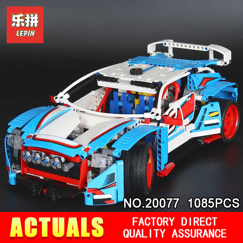Lepin 20077 1085Pcs Genuine Technic Series The Rally Car Set 42077 Building Blocks Bricks Educational Toys Model for boys Gifts лим д комикс зеро нулевой образец т 2