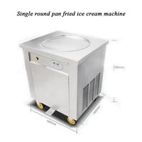 2016 New design ice pan fry máquina de sorvete tailândia rolou sorvete frito máquina de gelo creme de rolo