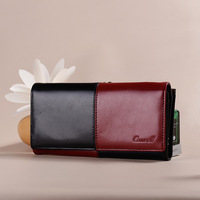 Long Wallet Leather Wallet Europe And The United States Wholesale Handbags Factory Direct Purse