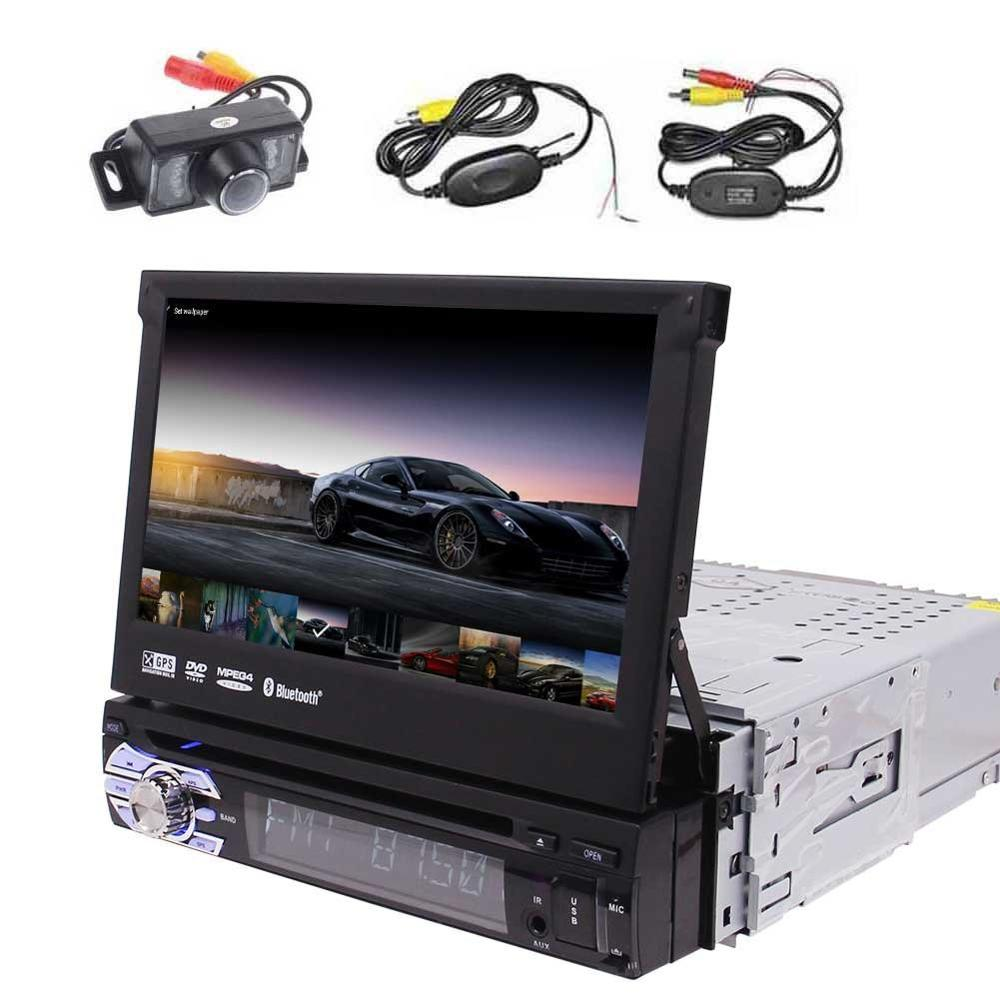 7''Car DVD Player Android 6.0 Single Din Car Stereo GPS