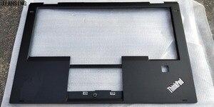 95%New Original top cover for Lenovo ThinkPad X1 Yoga 1st Gen palmrest upper case 00JT863 SB30K59264 Black DEFECT-IN-LOGO