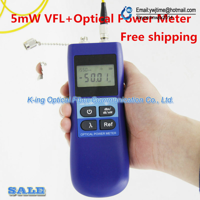 KING-27 MINI Handheld optical power meter + laser source 5KM VFL Visual Fault Locator