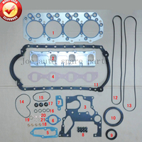 4JB1 4JB1T Engine complete Full Gasket Set kit for ISUZU PickUp ELF 250 NKR NHR Truck Z 5 87810 457 2, Z 5 87812 706 1