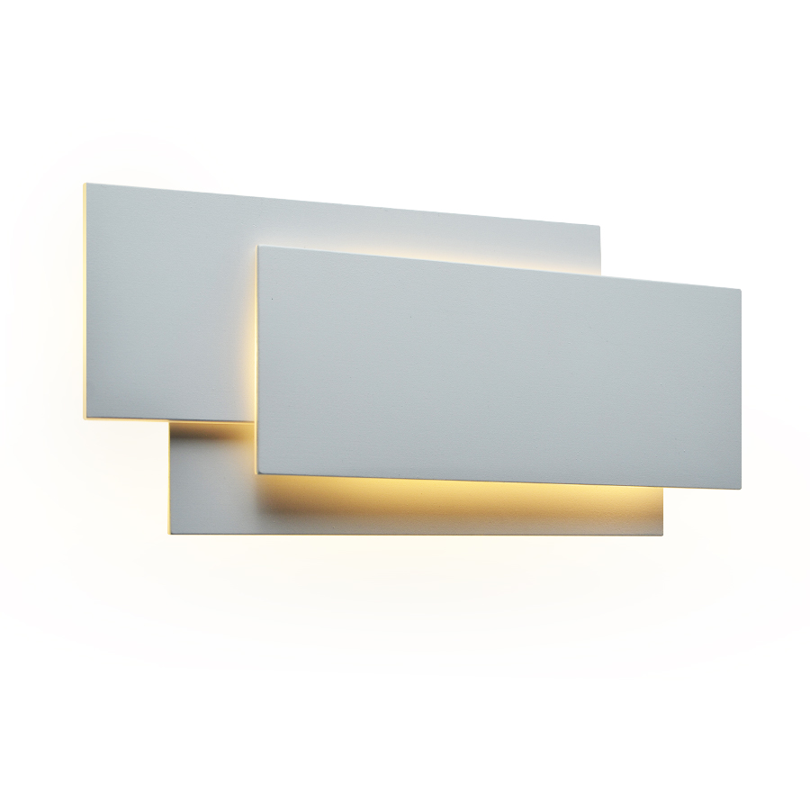 Image 3 - 18W LED Wall Sconces Lighting Interior Wall Lamp Contemporary Mounted Lamp With Aluminum Shell for Indoor Bedroom Hotel Light-in LED Indoor Wall Lamps from Lights & Lighting