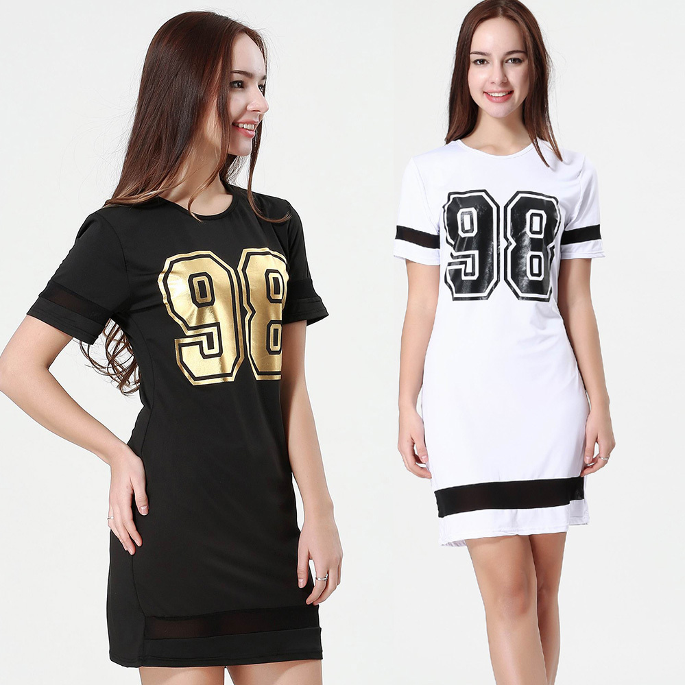 New Stylish Summer Women Casual Dresses Number 98 Print ...