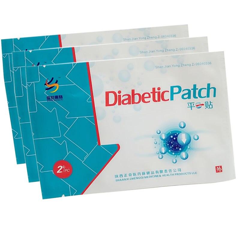 10 Unids Diabetes Patch Tratamiento Cura La Diabetes Medicamentos A Base de Hier
