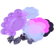 Dish-Glue Gel-Polish-Holder Nail-Art Acrylic Wholesale Display-Tools Paint Color-Palette